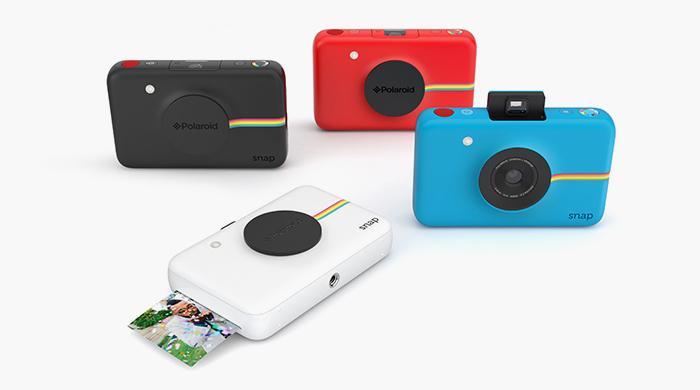 На печать: Polaroid создал камеру с мини-принтером