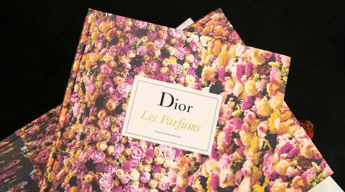 Новая книга об ароматах Dior Les Parfums