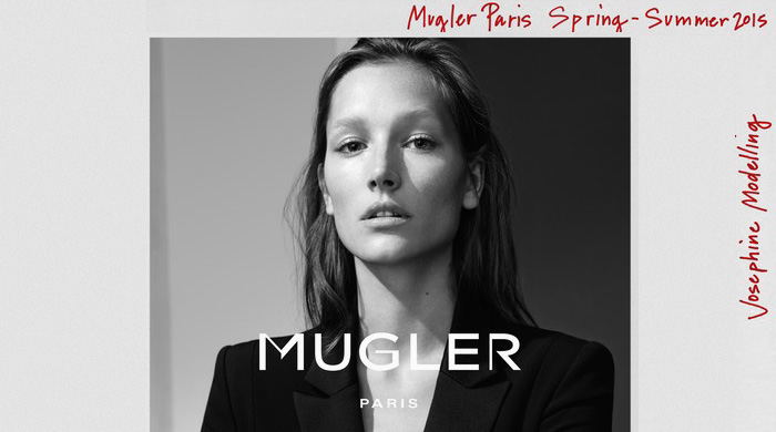Первая рекламная кампания Mugler за последние 11 лет