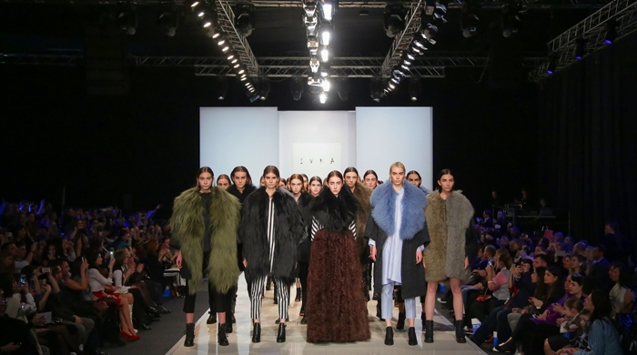 Модный показ бренда IVKA, осень-зима 2015/16