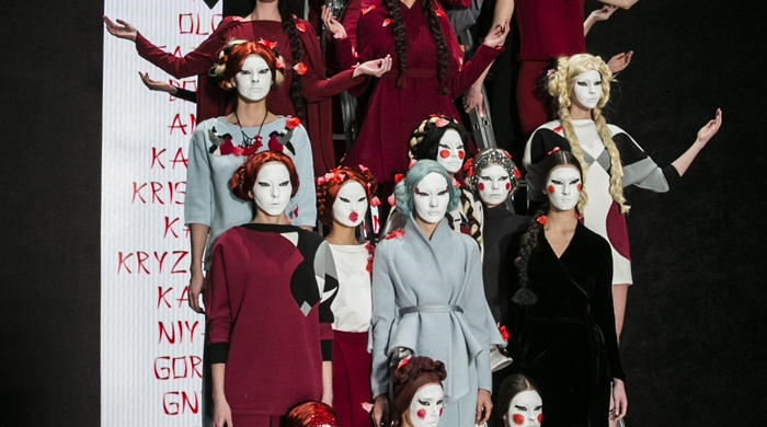 Модный показ DIMANEU, осень-зима 2015/16