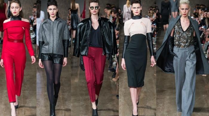 Модный показ бренда Chapurin, осень-зима 2015/16