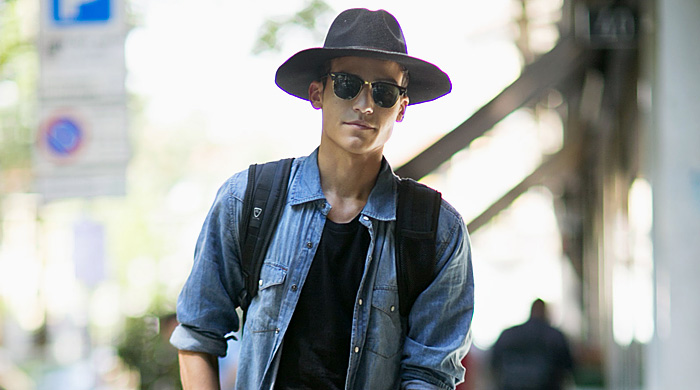 Неделя мужской моды в Милане, весна-лето 2016: street style. Часть 1