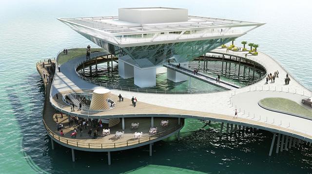 Объявлены финалисты конкурса St. Petersburg Pier Design Competition