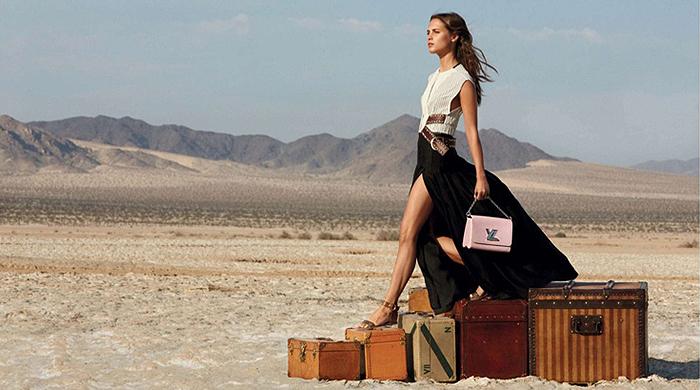 Актерский состав рекламной кампании Spirit of Travel Louis Vuitton