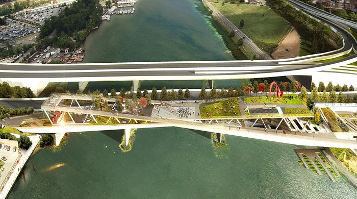 В Вашингтоне появится мост-парк