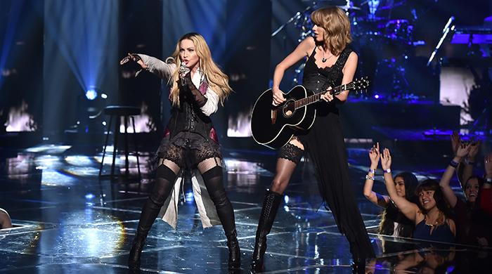 Тейлор Свифт выступила с Мадонной на iHeartRadio Music Awards