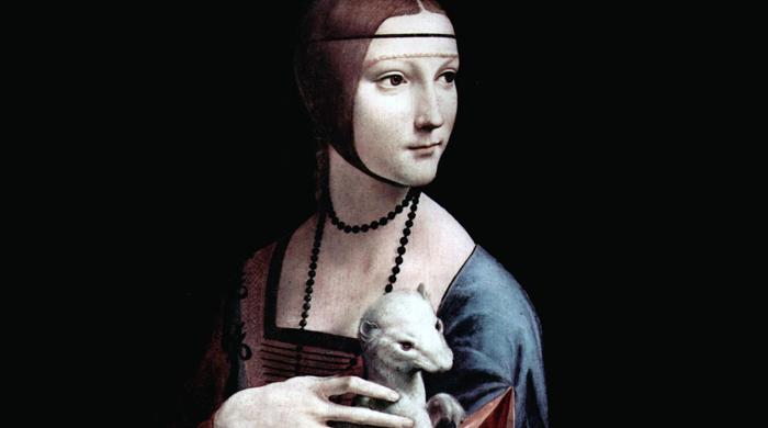 """Дама с горностаем"" Леонардо да Винчи не сразу обзавелась питомцем"