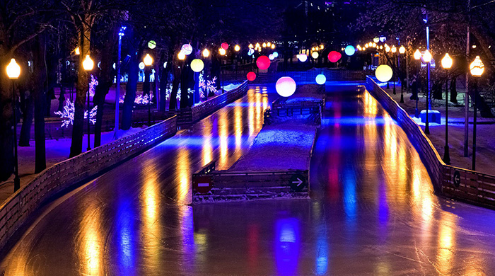 Энди Уорхол послужил вдохновением зимнего дизайна парка Горького