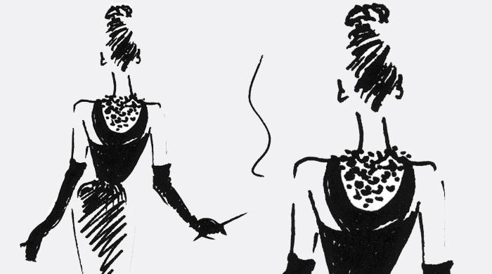 Юбер Живанши выпустит скетчбук, посвященный Одри Хепберн