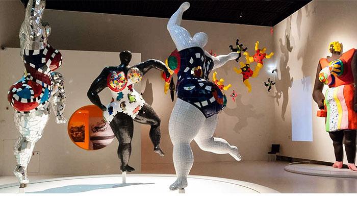 Ники де Сен-Фалль в Музее Гуггенхайма в Бильбао