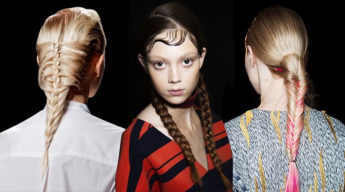 Тенденция: косы