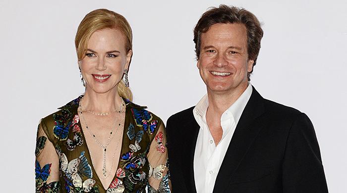 """Николь Кидман и Колин Ферт на премьере фильма """"Прежде, чем я усну"""" в Лондоне"""