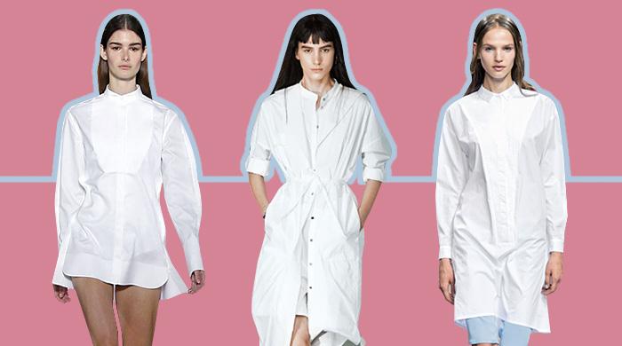 10 способов носить платья-рубашки