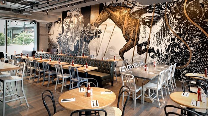 Мясной ресторан Beef & Liberty в Гонконге