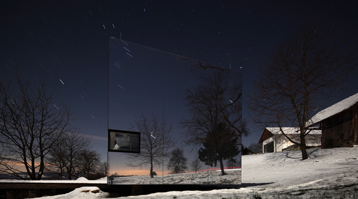 Дом-невидимка от Delugan Meissl Associated Architects