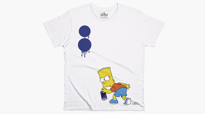 Коллекция маек Elevenparis x The Simpsons x Colette