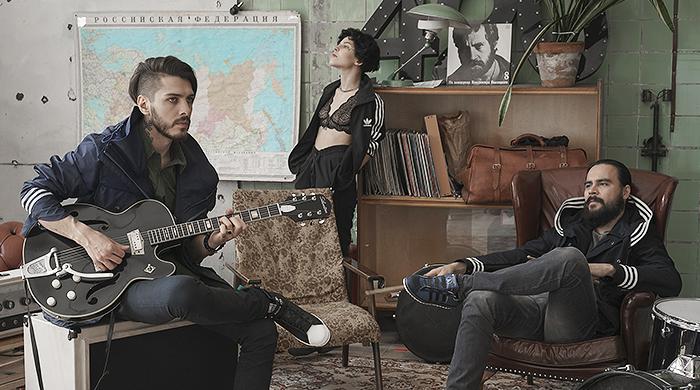 Первая коллаборация adidas Originals с маркой из России: Grunge John Orchestra. Explosion