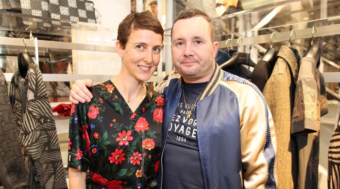 Открытие pop-up store Louis Vuitton в парижском Colette
