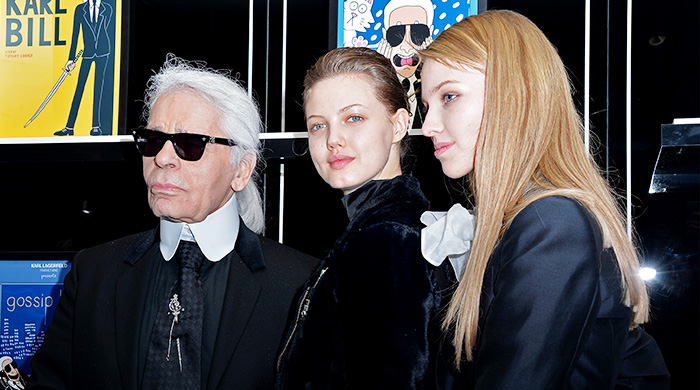Открытие выставки в бутике Karl Lagerfeld в Париже