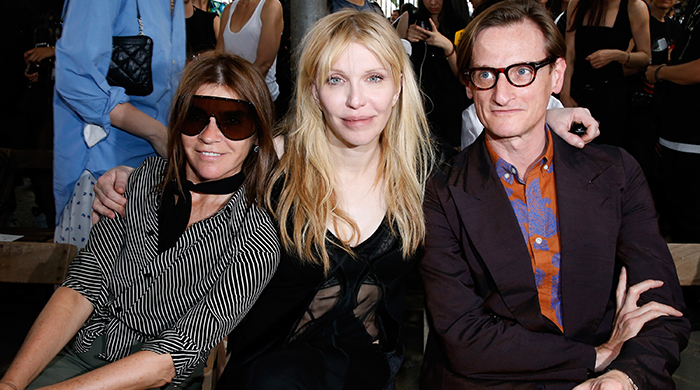 Гости показа Givenchy, весна-лето 2016