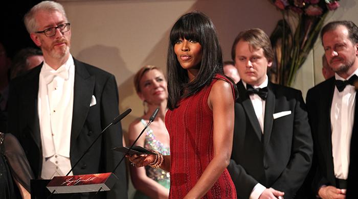 Наоми Кэмпбелл на ежегодном балу в Дрезденской государственной опере