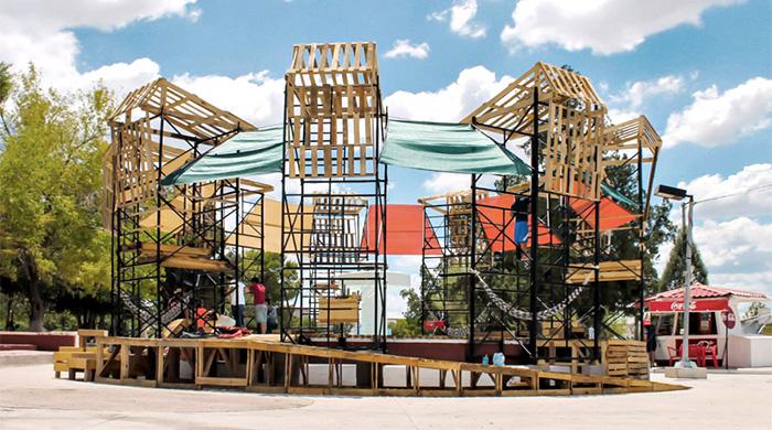 Лето в городе: urban spa в мексиканском Чиуауа