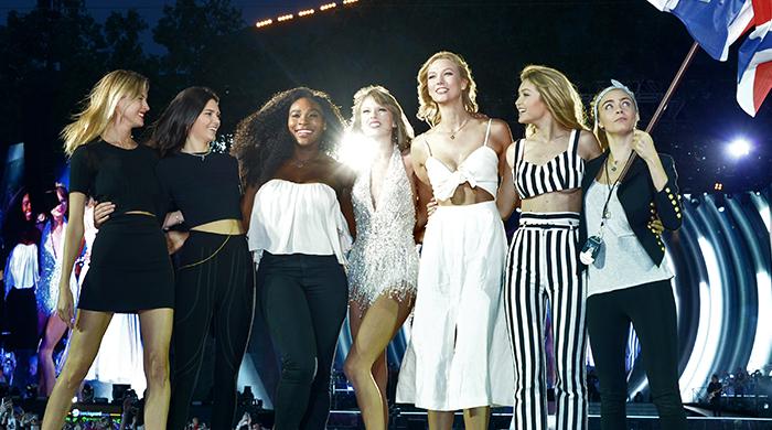 Гайд-парк покорен: Тейлор Свифт вывела на сцену подруг