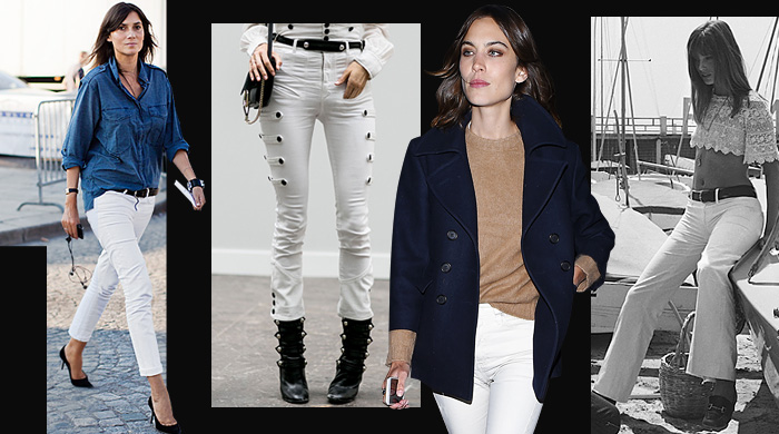 Эволюция белых джинсов