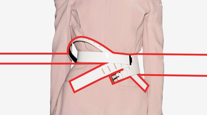 10 новых способов носить ремень