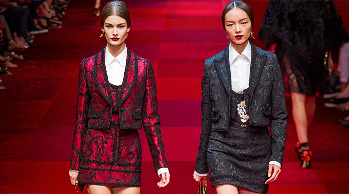 Обзор Buro 24/7: Dolce & Gabbana, весна-лето 2015