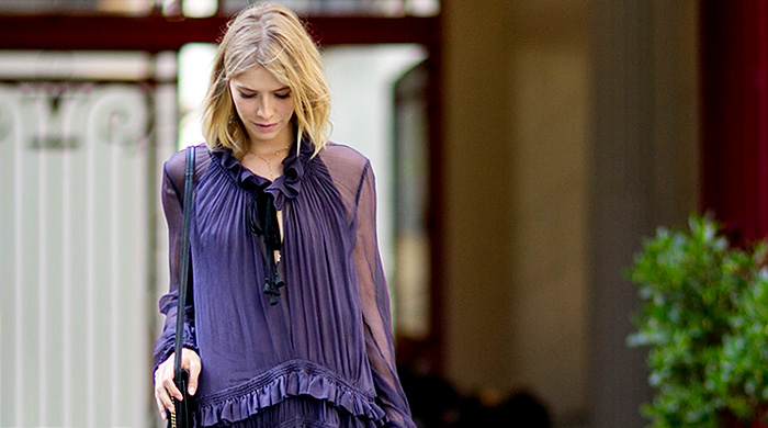 Неделя высокой моды в Париже, осень-зима 2015: street style. День 1