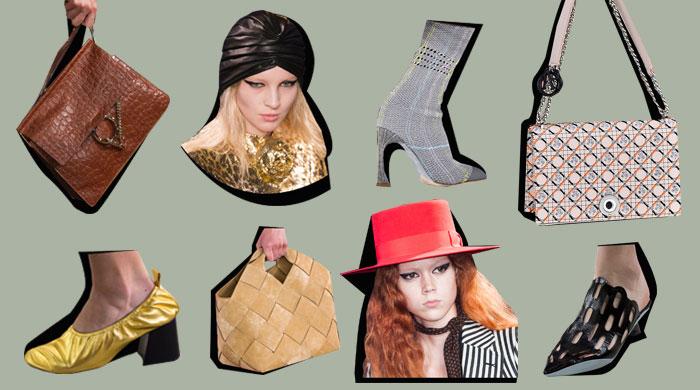 20 главных аксессуаров с недели моды в Париже, часть 2