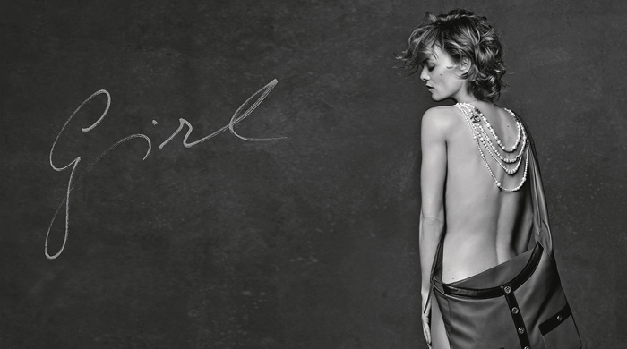 Кристен Стюарт, Элис Деллал и Ванесса Паради в рекламной кампании Chanel