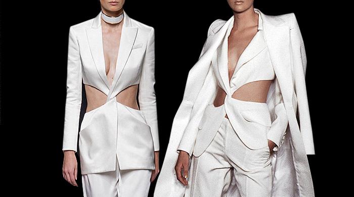 Где-то мы это видели: костюм Balmain VS Givenchy Couture