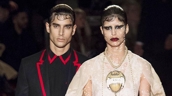 Обзор Buro 24/7: мужская коллекция Givenchy, осень-зима 2015