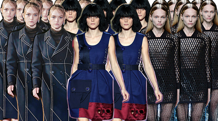 Итоги недель моды весна-лето 2015: модели