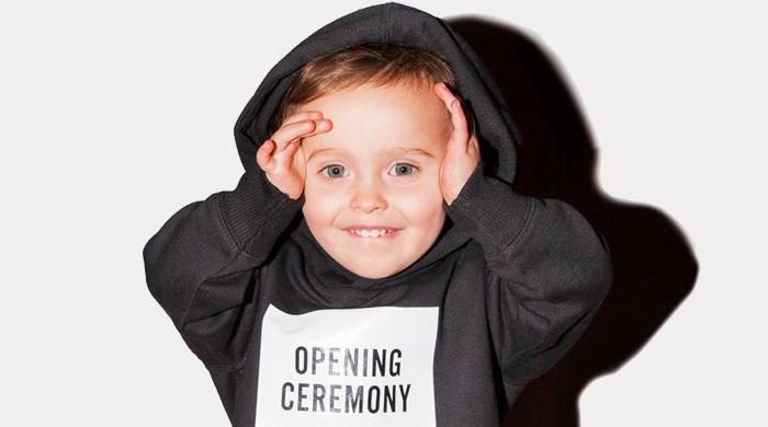 Opening Ceremony запустили линию детской одежды