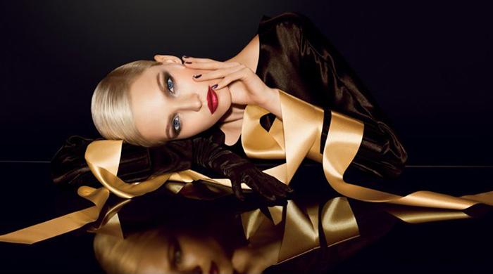 Саша Лусс в рождественской коллекции Dior: первый взгляд