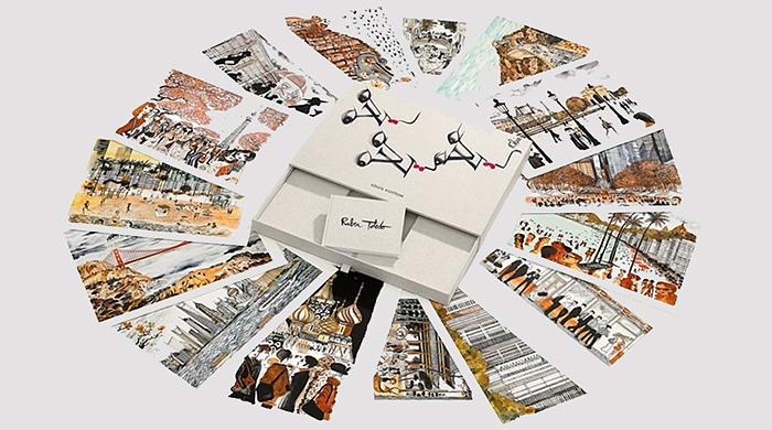 Louis Vuitton выпустили книги с иллюстрациями Рубена Толедо