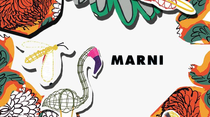 Прямая трансляция показа Marni, весна-лето 2015