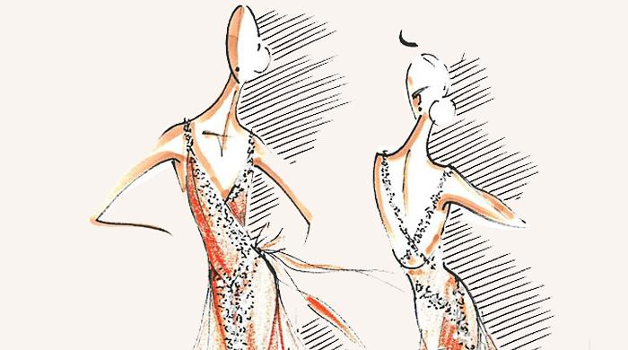 Опубликованы эскизы дизайнерских костюмов для New York City Ballet