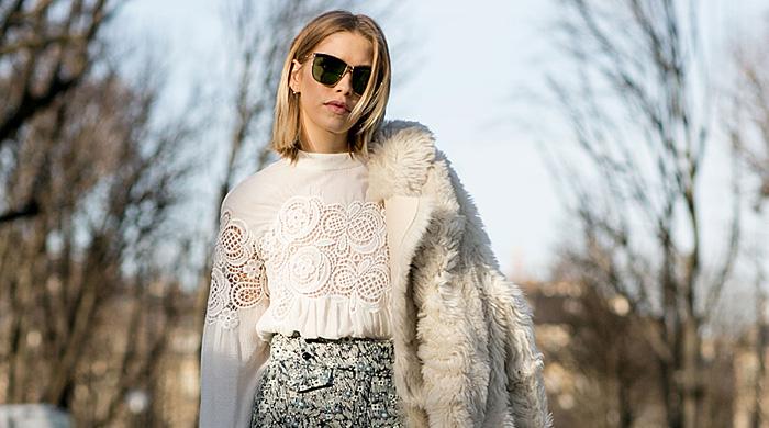 Неделя моды в Париже F/W 2015: street style. Часть 4