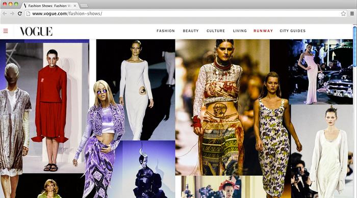 Style.com умер, да здравствует Vogue Runway