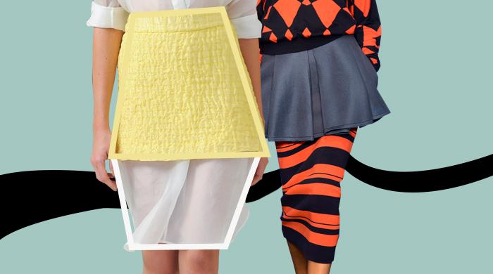 На заметку: двойные юбки