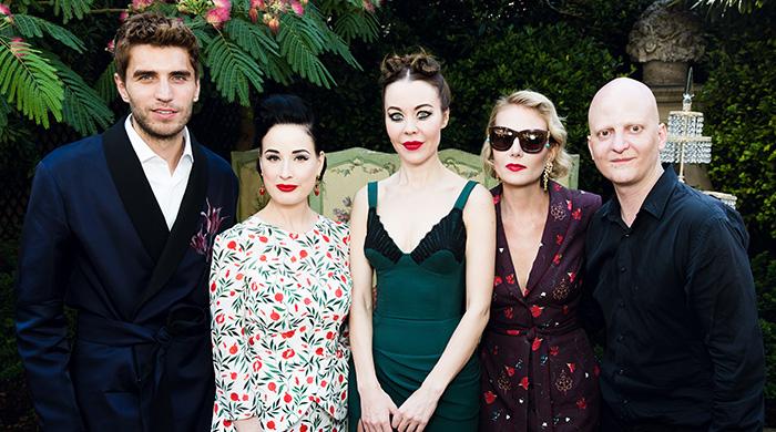 Неделя высокой моды в Париже — 2015: гости показа Ulyana Sergeenko
