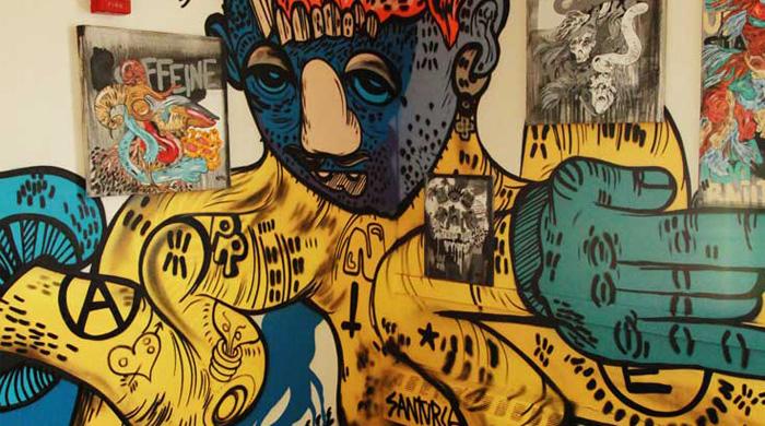 Исчезающая выставка граффити и уличного искусства в Нью-Йорке