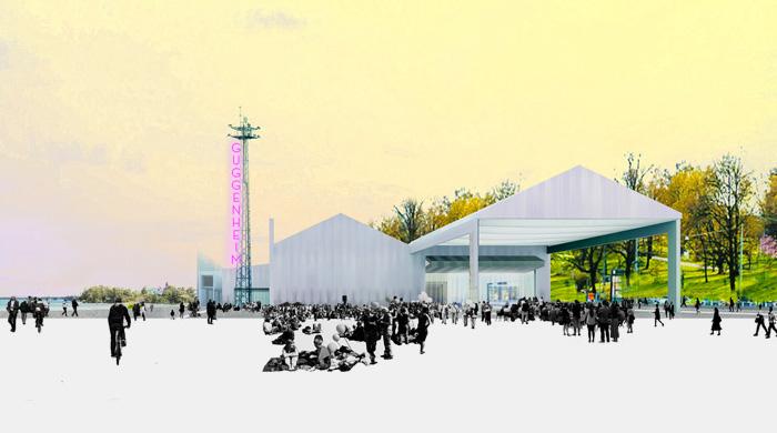 Финалисты конкурса на создание проекта Музея Гуггенхайма в Хельсинки