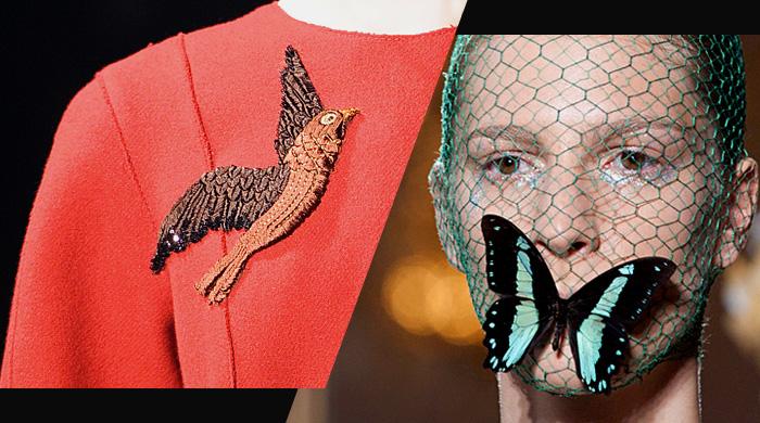 In/Out: птицы VS бабочки