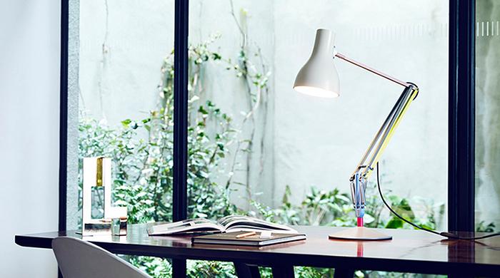 Новая жизнь настольной лампы Anglepoise Type75 от Пола Смита